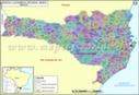 Santa Catarina Mapa