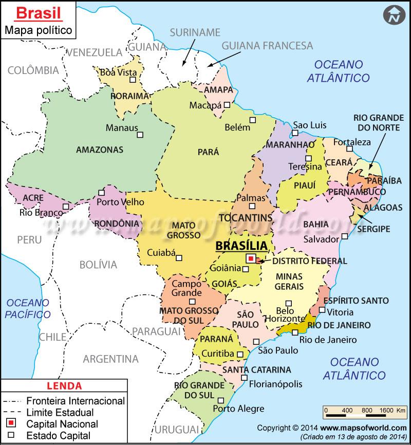 Brasil Mapa
