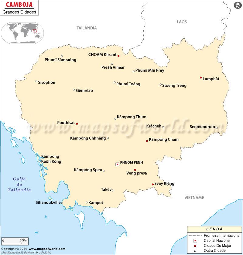 Cidades em Camboja