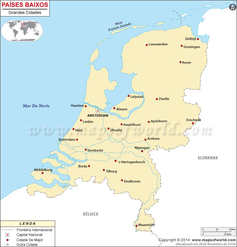 Cidades em Holanda