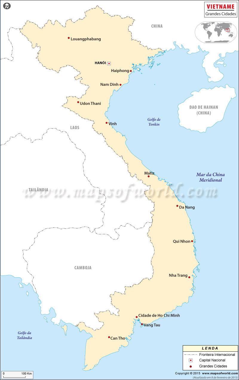 Cidades Vietnam