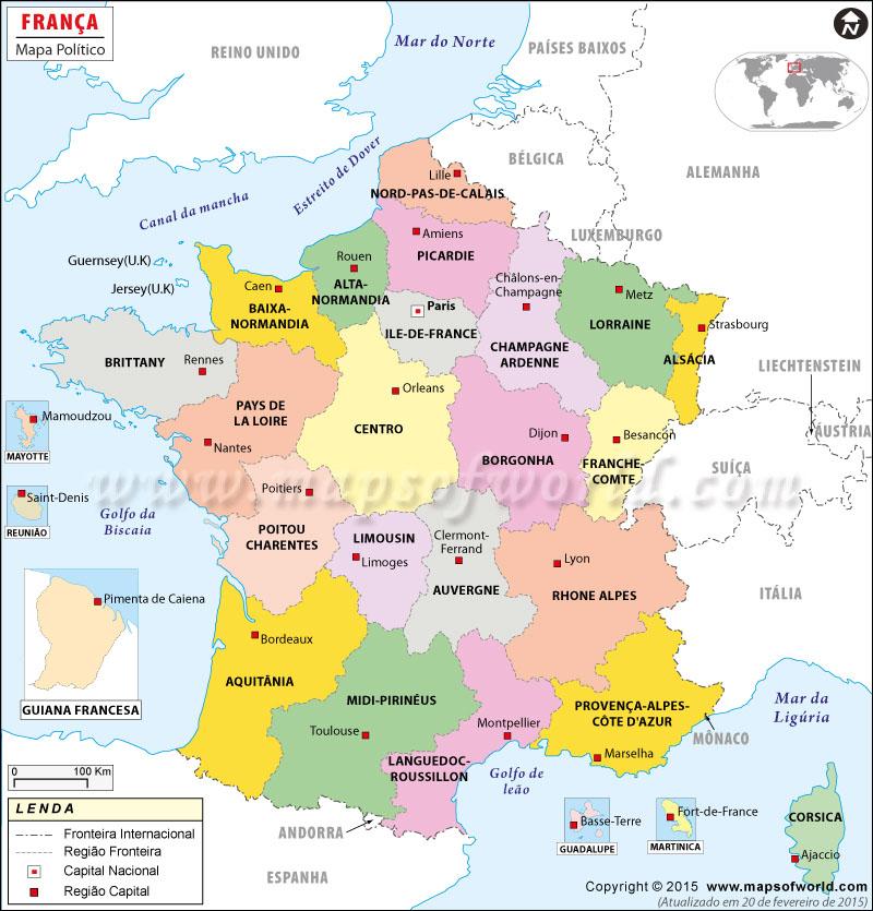 ver mapa do sul de frança França Mapa, Mapa da França ver mapa do sul de frança