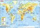 Mapa do Mundo Geografia