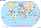 Mapa World Atlas