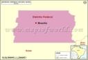 Distrito Federal Mapa
